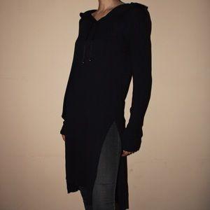 Unconditional London Long Tunic with Hood